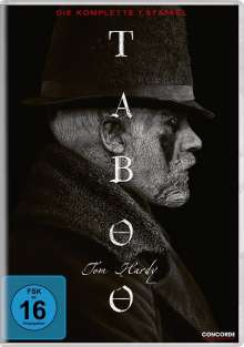 Taboo Staffel 1, 3 DVDs