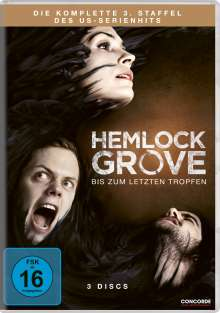 Hemlock Grove Season 3 (finale Staffel), 3 DVDs