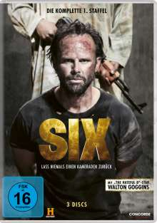 Six Staffel 1, 3 DVDs