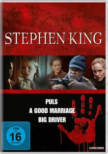 Stephen King Collection, 3 DVDs