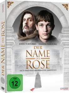 Der Name der Rose (TV-Serie) (Limited Edition im Digipack), 3 DVDs