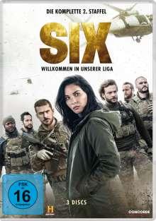 Six Staffel 2, 3 DVDs