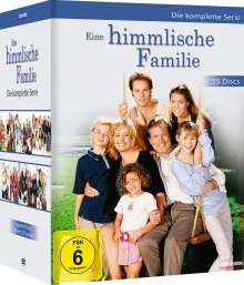 Eine himmlische Familie (Komplette Serie), 55 DVDs