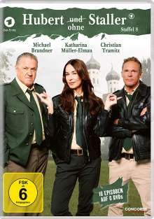 Hubert ohne Staller Staffel 8, 6 DVDs