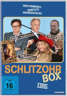 Schlitzohr-Box (3 Filme), 3 DVDs