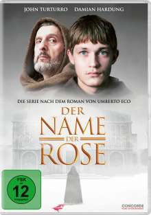 Der Name der Rose (TV-Serie), 3 DVDs