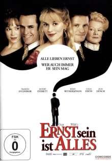 Ernst sein ist alles (2002), DVD
