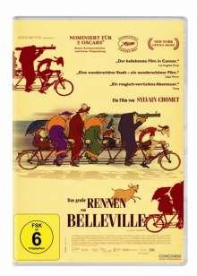 Das große Rennen von Belleville, DVD