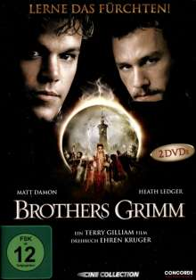 Brothers Grimm (Special Edition), 2 DVDs