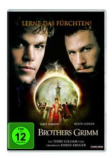 Brothers Grimm, DVD