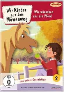 Wir Kinder aus dem Möwenweg DVD 2: Wir wünschen uns ein Pferd, DVD