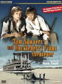 Tom Sawyers und Huckleberry Finns Abenteuer, 2 DVDs