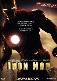 Iron Man (2008), DVD