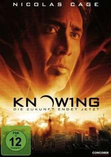 Knowing - Die Zukunft endet jetzt, DVD
