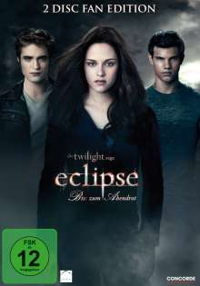Twilight: Eclipse - Bis(s) zum Abendrot (Fan Edition), 2 DVDs