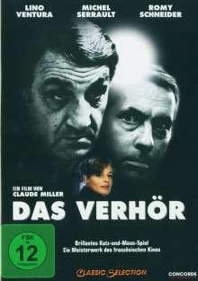 Das Verhör (1981), DVD