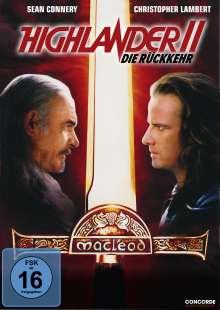 Highlander II - Die Rückkehr, DVD