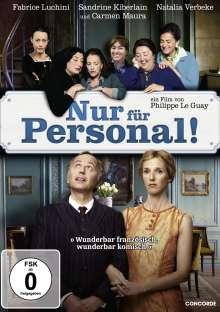 Nur für Personal, DVD
