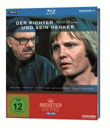 Der Richter und sein Henker (Blu-ray), Blu-ray Disc
