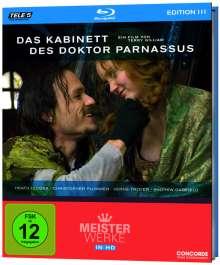 Das Kabinett des Doktor Parnassus (Blu-ray), Blu-ray Disc