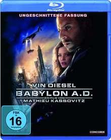 Babylon A.D. (Blu-ray), Blu-ray Disc