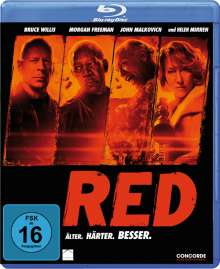R.E.D. (Blu-ray), Blu-ray Disc
