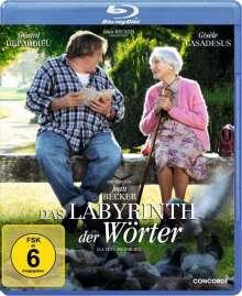 Das Labyrinth der Wörter (Blu-ray), Blu-ray Disc