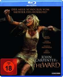The Ward (Blu-ray), Blu-ray Disc