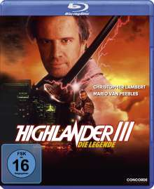 Highlander III - Die Legende (Blu-ray), Blu-ray Disc