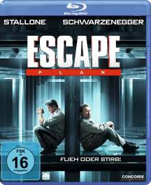 Escape Plan (Blu-ray), Blu-ray Disc