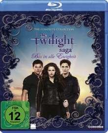 Die Twilight Saga - Biss in alle Ewigkeit (The Complete Collection) (Blu-ray), 6 Blu-ray Discs