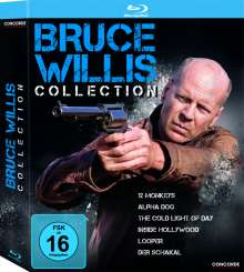 Bruce Willis Collection (Blu-ray), 6 Blu-ray Discs