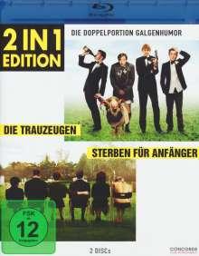 Die Trauzeugen / Sterben für Anfänger (Blu-ray), 2 Blu-ray Discs