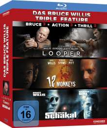 Das Bruce Willis Triple Feature (Blu-ray), 3 Blu-ray Discs