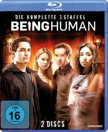 Being Human Season 3 (Blu-ray), 2 Blu-ray Discs