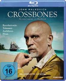 Crossbones Season 1 (Blu-ray), 2 Blu-ray Discs