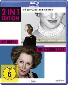 Die Queen / Die Eiserne Lady (Blu-ray), 2 Blu-ray Discs