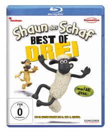 Shaun das Schaf - Best of Drei (Blu-ray), Blu-ray Disc
