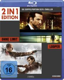 Ohne Limit / Looper (Blu-ray), 2 Blu-ray Discs
