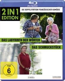Das Labyrinth der Wörter / Das Schmuckstück (Blu-ray), 2 Blu-ray Discs