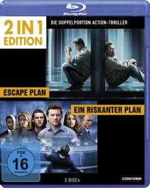 Escape Plan / Ein riskanter Plan (Blu-ray), 2 Blu-ray Discs
