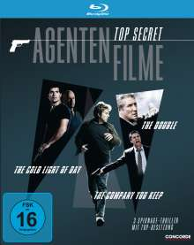 Top Secret Agentenfilme (Blu-ray), 3 Blu-ray Discs