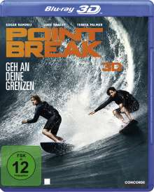 Point Break (2015) (3D & 2D Blu-ray), 2 Blu-ray Discs