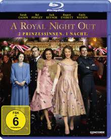 A Royal Night Out (Blu-ray), Blu-ray Disc