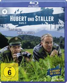 Hubert und Staller Staffel 5 (Blu-ray), 4 Blu-ray Discs