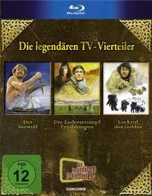 Die legendären TV-Vierteiler (Blu-ray), 3 Blu-ray Discs