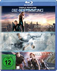Die Bestimmung Triple Feature (Blu-ray), 3 Blu-ray Discs