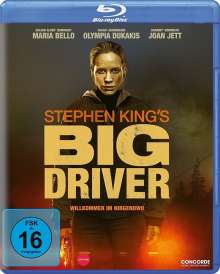 Big Driver (Blu-ray), Blu-ray Disc