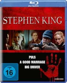 Stephen King Collection (Blu-ray), 3 Blu-ray Discs