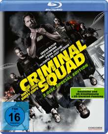 Criminal Squad (Blu-ray), Blu-ray Disc